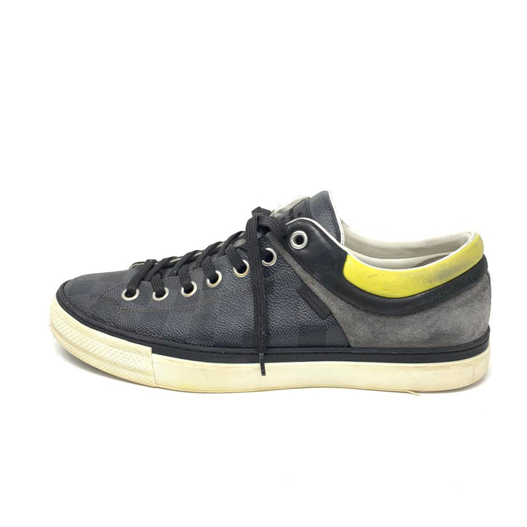 Louis Vuitton Damier Low-Top Sneakers -Size UK 7.5