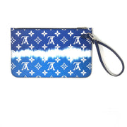 Louis Vuitton Escale Monogram Giant Neverfull Pochette Blue tie Dye