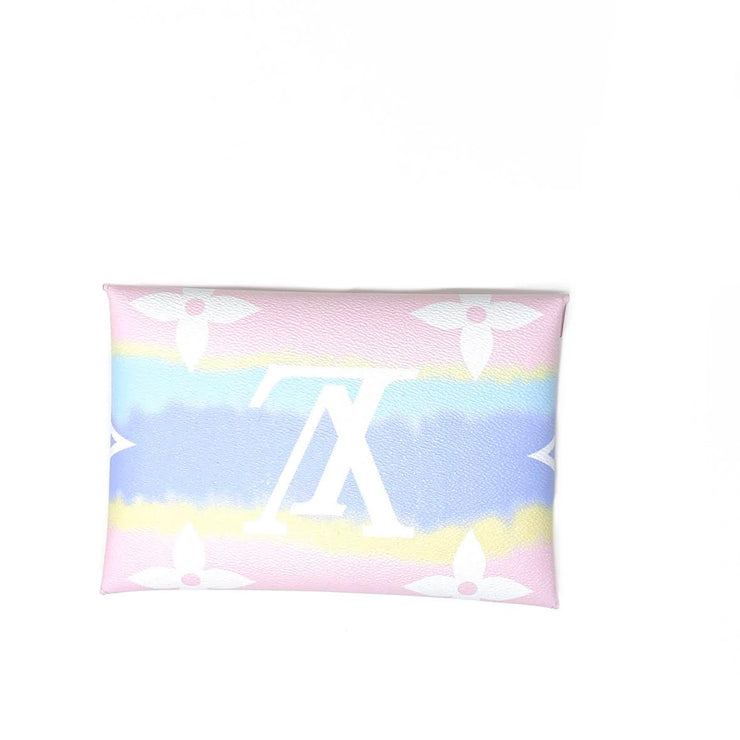 Louis Vuitton Escale Pochette Kirigami Limited edition Giant monogram consignment shop from runway with love