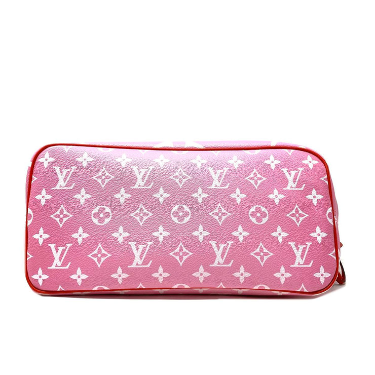 Louis Vuitton Limited Edition Monogram Escale Giant Neverfull Rouge Consignment Shop From Runway With Love