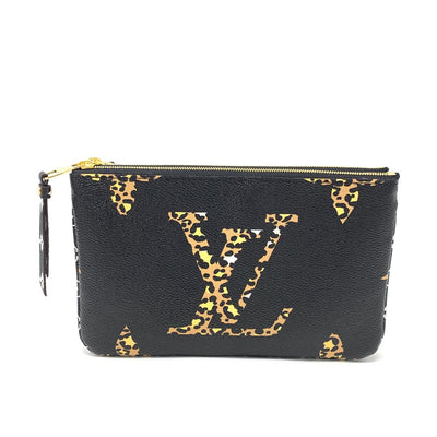 Louis Vuitton Monogram Giant Jungle Pochette Double Zip Consignment Shop From Runway With Love