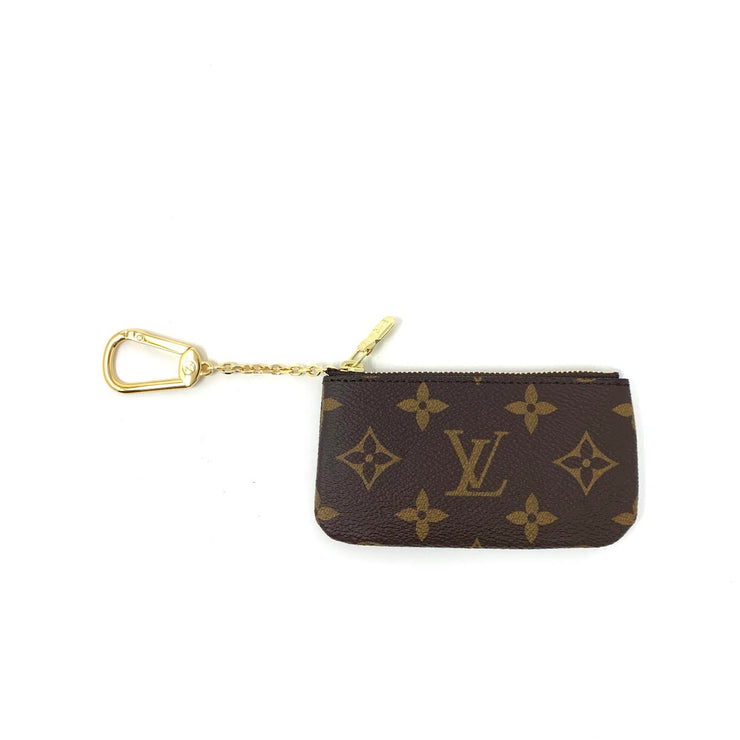 Louis Vuitton Monogram Key Pouch Consignment Shop From Runway With Love