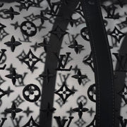 Louis Vuitton Monogram See Through Keepall Bandouliere 50 Black Designer Consignment Virgil Abloh From Runway With Love