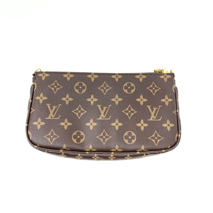 Louis Vuitton Multiple Pochette Mini Accessories Monogram Canvas Consignment Shop From Runway With Love