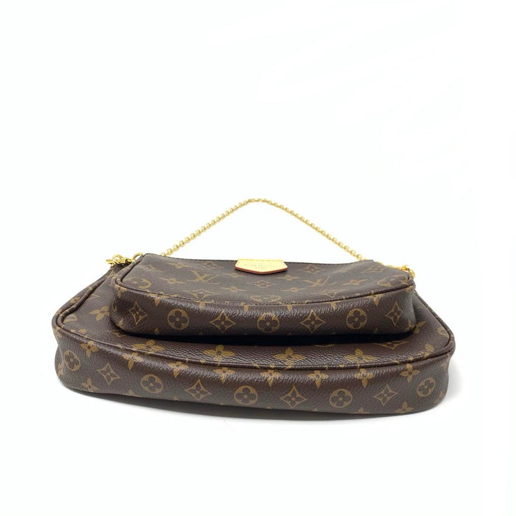 Louis Vuitton Multiple Pochette Mini Accessories Monogram Canvas Rose Clair Consignment Shop From Runway With Love