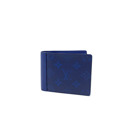 Louis Vuitton Multiple Taigarama Wallet Blue Consignment Shop From Runway With Love