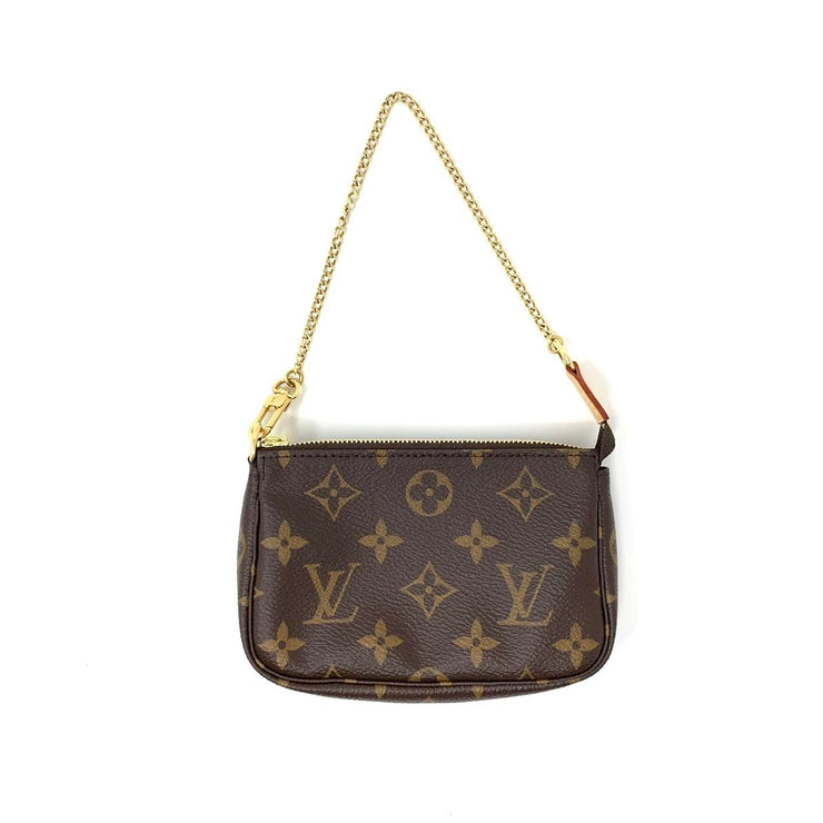 Louis Vuitton Mini Pochette Accessories Consignment Shop From Runway With Love