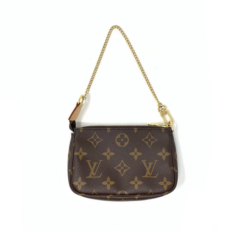 Louis Vuitton Mini Pochette Accessories w/ Tags