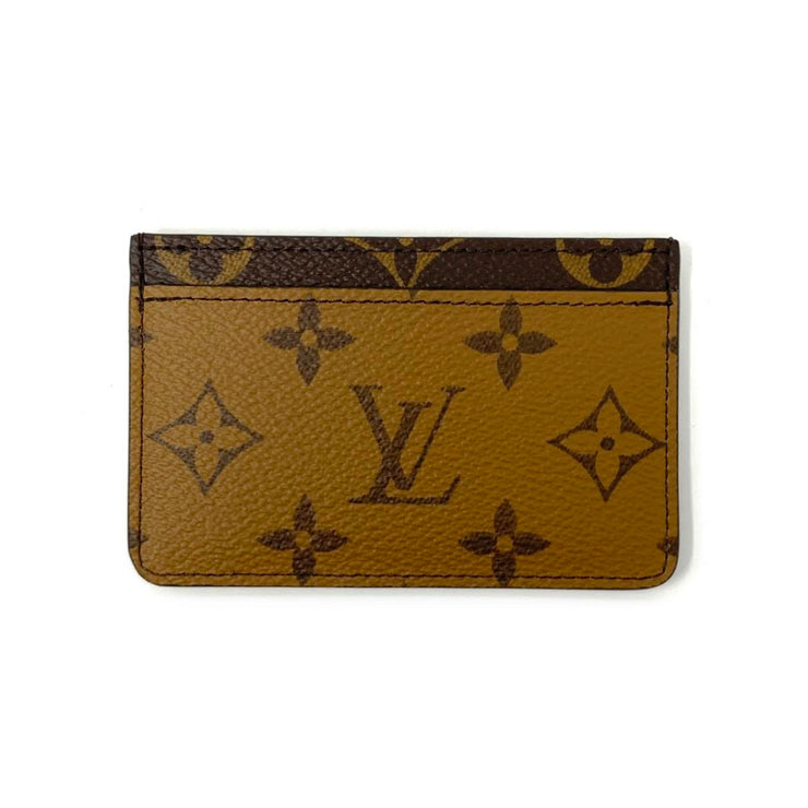 Louis Vuitton Reverse Monogram Card Holder Consignment Shop From Runway With Love