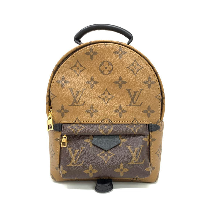 Louis Vuitton Reverse Monogram Palm Springs Mini Backpack Designer Consignment From Runway With Love