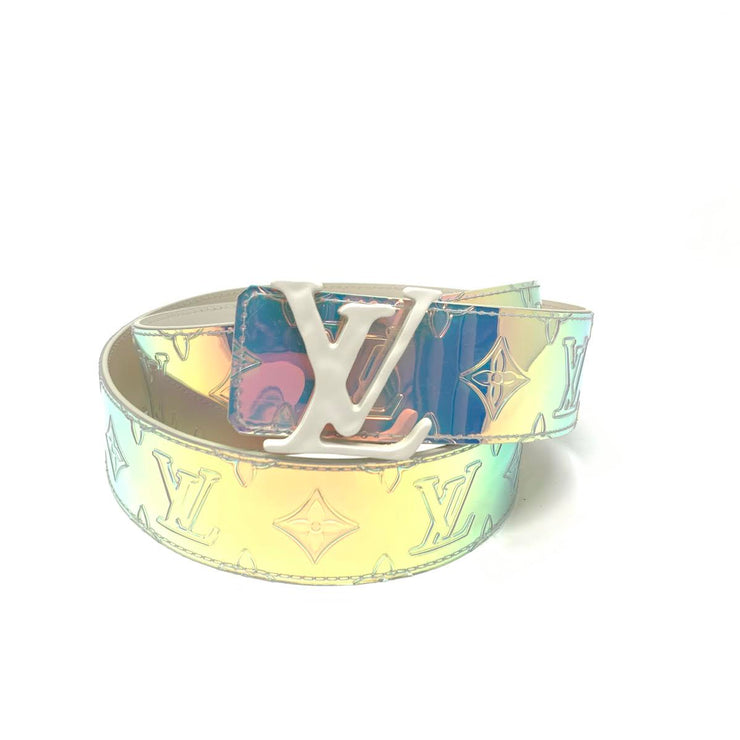 Louis Vuitton Prism Shape Belt Consignment Shop From Runway With Love
