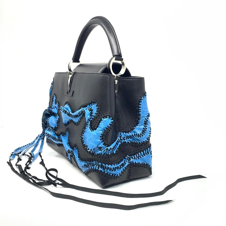 Louis Vuitton Nicholas Hlobo Artycapucines Limited Edition Handbag Designer Consignment From Runway With Love