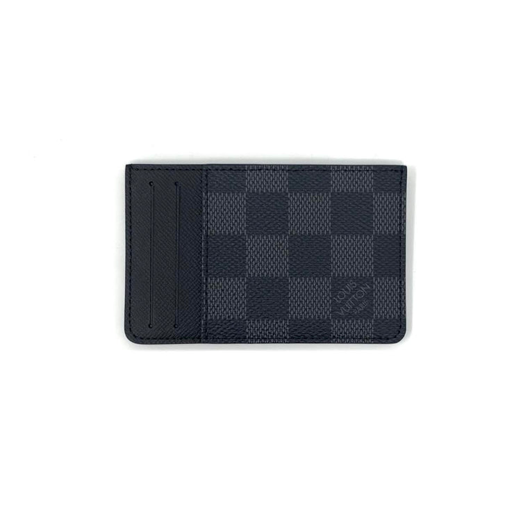 Louis Vuitton Damier Graphite Neo Porte Cartes From Runway With Love Designer Consignment