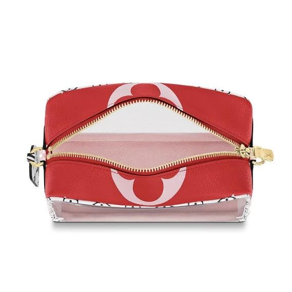Louis Vuitton Giant Monogram Beach Pouch Pink Designer Consignment From Runway With Love