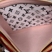 Louis Vuitton Giant Monogram Double Zip Pochette Designer Consignment From Runway With Love