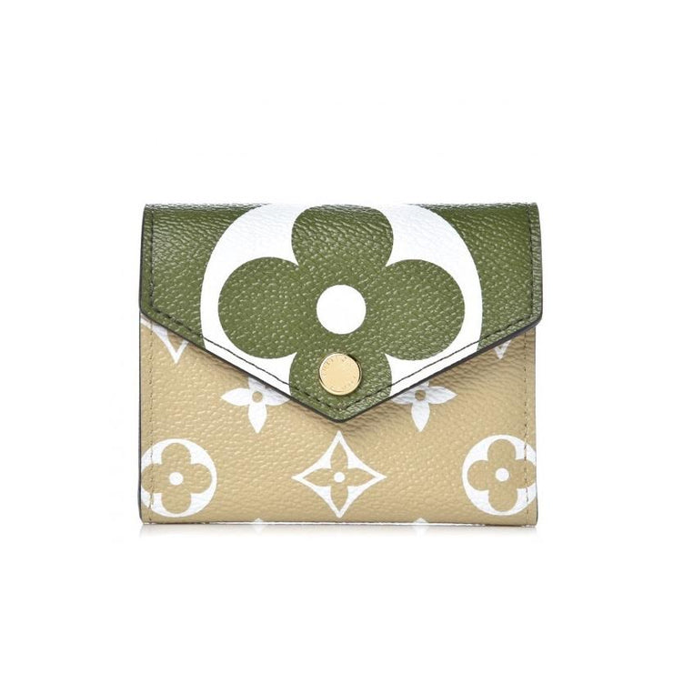Louis Vuitton Giant Monogram Zoe Wallet Designer Consignment From Runway With Love