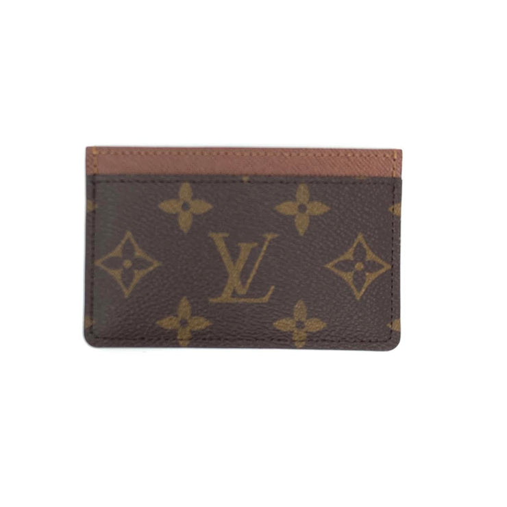 Louis Vuitton Monogram Card Holder Designer Consignment From Runway With Love