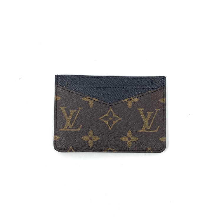 Louis Vuitton Monogram Macassar Neo Porte Cartes Designer Consignment From Runway With Love