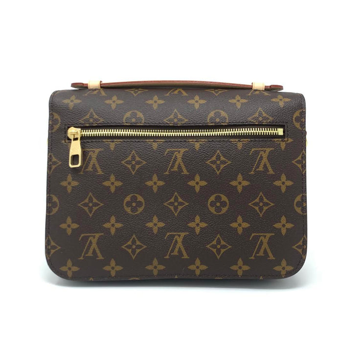 Louis Vuitton Monogram Pochette Metis Designer Consignment From Runway With Love