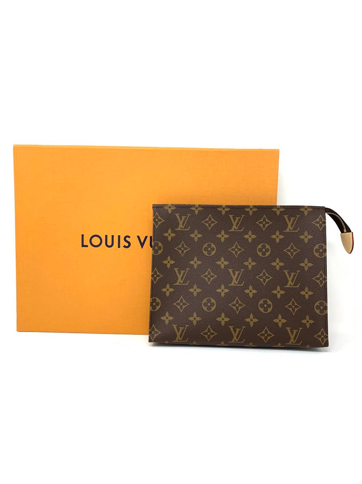 Louis Vuitton Monogram Toiletry Pouch 26 Designer Consignment From Runway With Love