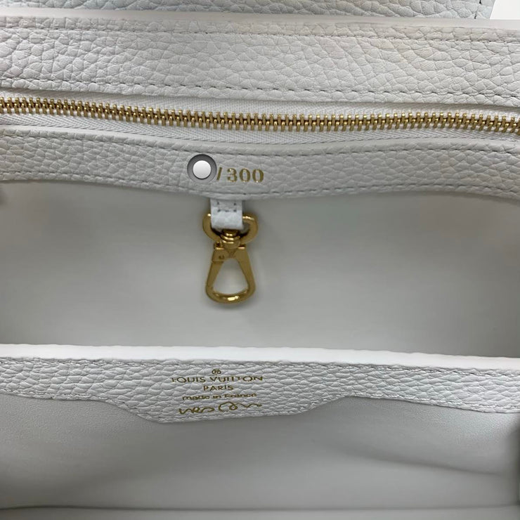 Louis Vuitton Urs Fischer Artycapucines Limited Edition Handbag Designer Consignment From Runway With Love