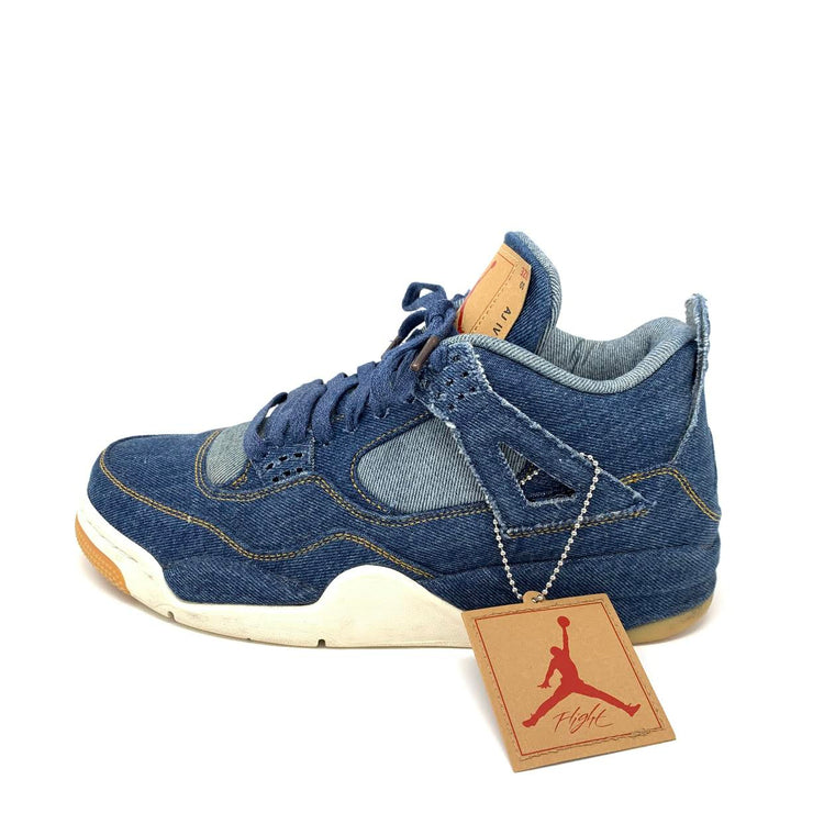 Jordan 4 Retro Levi's NRG 'Denim' Sneakers Consignment Shop From Runway With Love