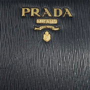 Prada Continental Wallet Vitello Move Red Black Consignment Shop From Runway With Love
