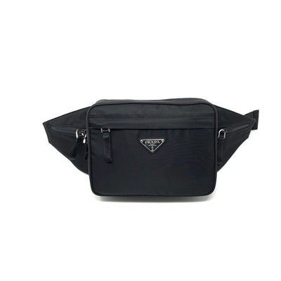 Prada Tessuto Montagna Belt Waist Bag Bumbag Consignment Shop From Runway With Love