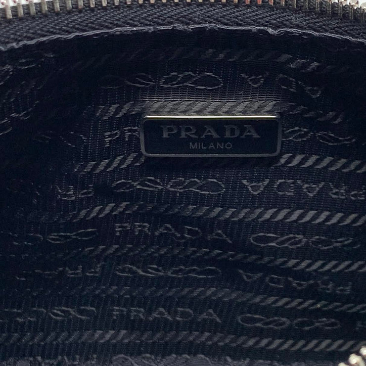Prada Multiple Pochette Re-edition 2005 Black Nylon Crossbody Bag Consignment Shop From Runway With Love