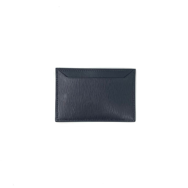 Prada Vitello Move Card Holder Black Nero Consignment Shop From Runway With Love