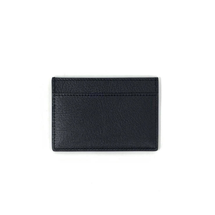 Saint Laurent Logo Leather Card Holder YSL Consignment Shop From Runway With Love