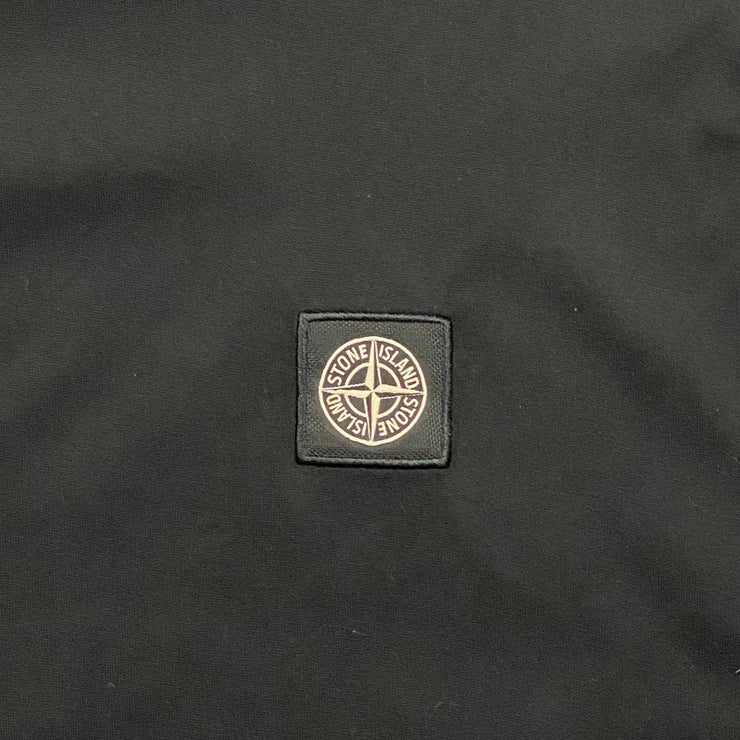 Stone Island Crew Neck Long Sleeve T-Shirt Black Consignment Shop From Runway With Love
