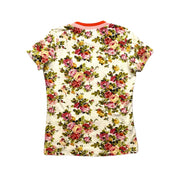 Zimmermann Floral Print pink T-Shirt consignment shop from runway with love