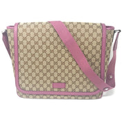 Gucci Diaper Bag in pink mother changing pad