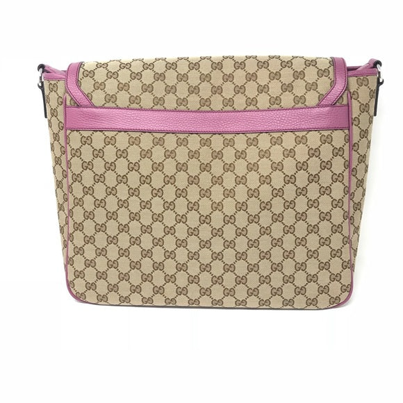 8213058fb73 Gucci Diaper Bag in pink mother changing pad