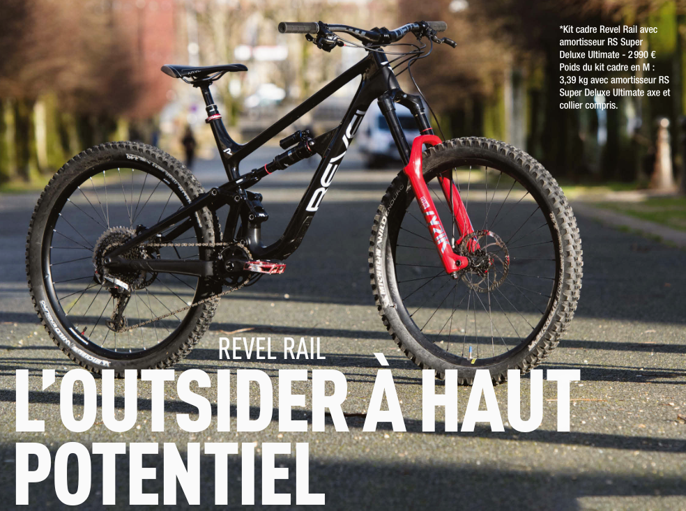 Test du Revel Bikes RAIL par le magazine Ride It !