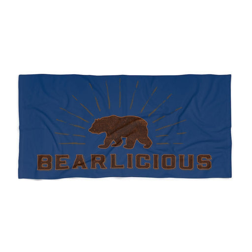 Bearlicious Beach Towel