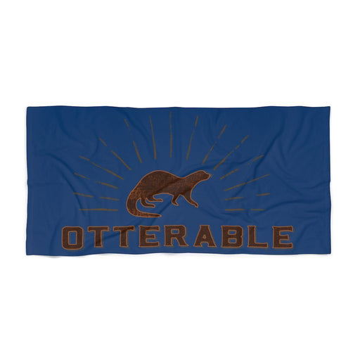 Otterable Beach Towel