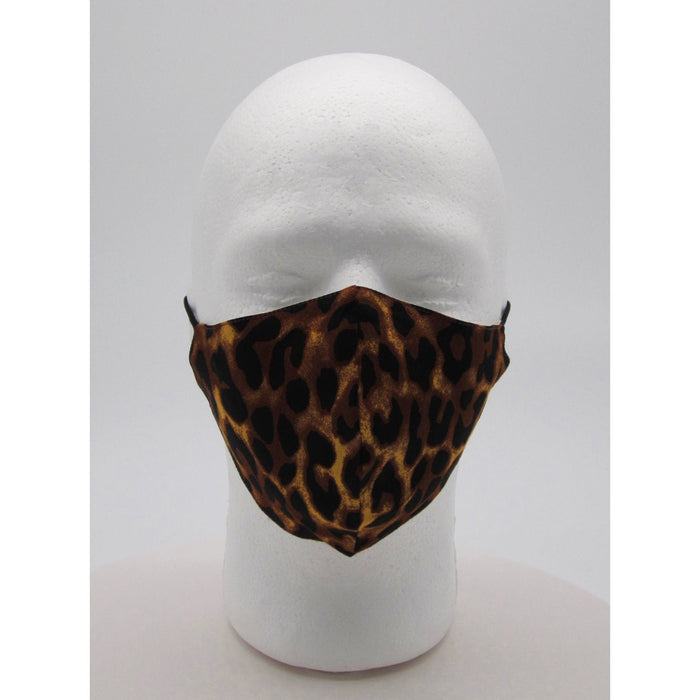 Adult Cheetah Face Mask w/ PM2.5 Filters