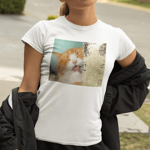 Custom Sequin Women T-Shirts (Rectangle)