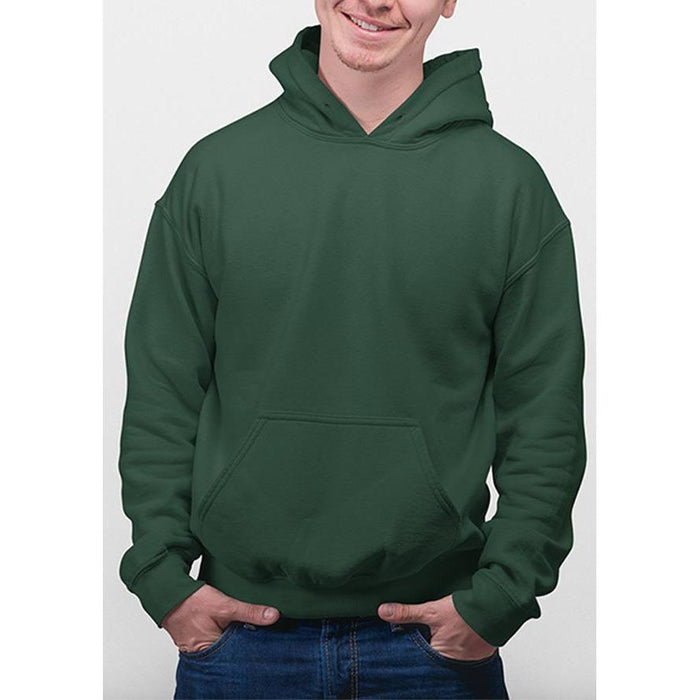 Deep Forest hanes hoodie 50% cotton, 50% polyester