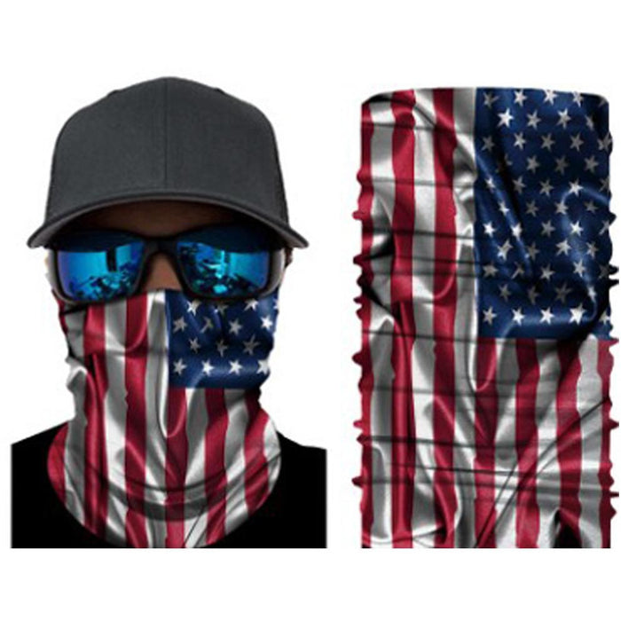 American Flag Neck Gaiter & Face Mask