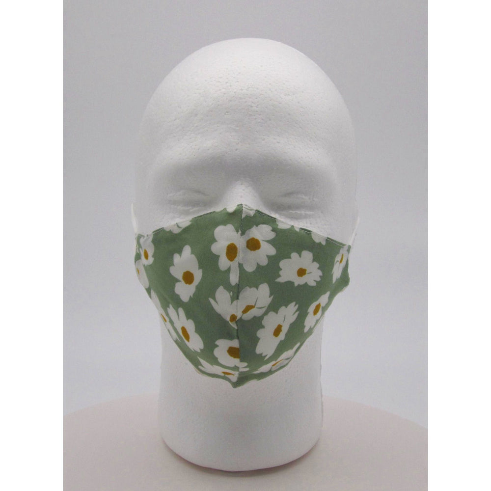 Adult Unisex Flower Face Mask w PM2.5 Filters