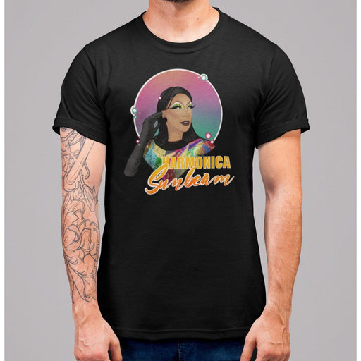 Harmonica Sunbeam Illustration Unisex Tee