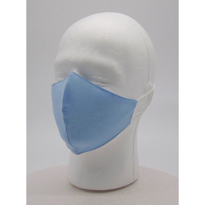 Adult Solid Color Face Mask w PM2.5 Filters