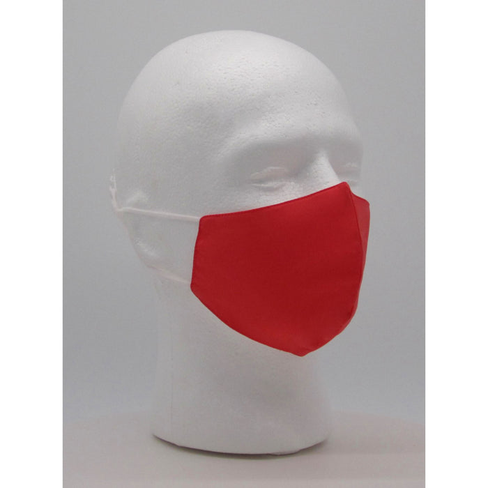 Adult Solid Salmon Face Mask w/ PM2.5 Filters