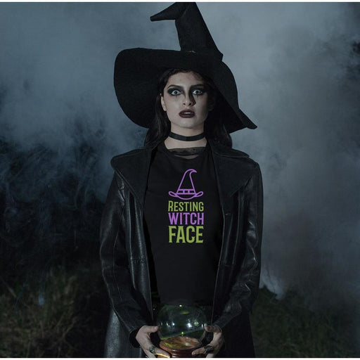 Resting Witch Face Ladies T-Shirt