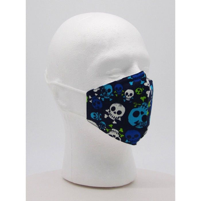 Children's Skeleton Face Mask w/ PM2.5 Filters