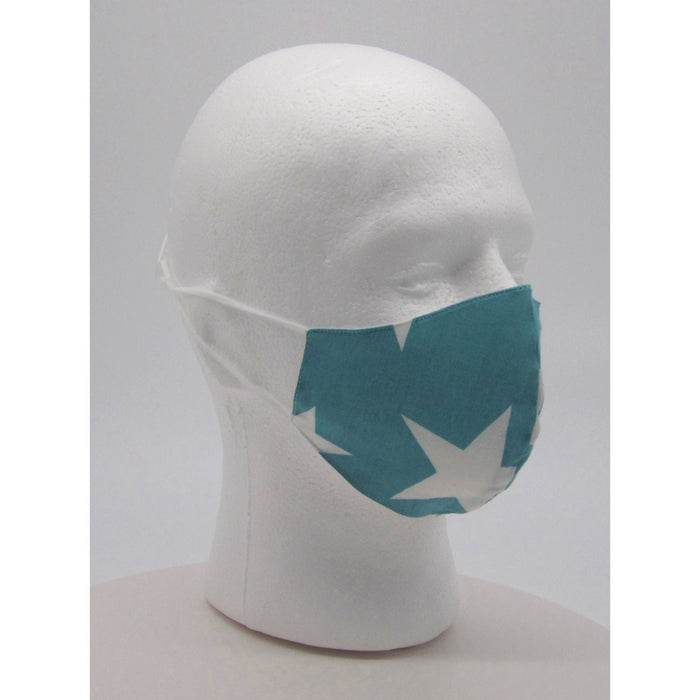 Adult Unisex Stars Face Mask w/ PM2.5 Filters