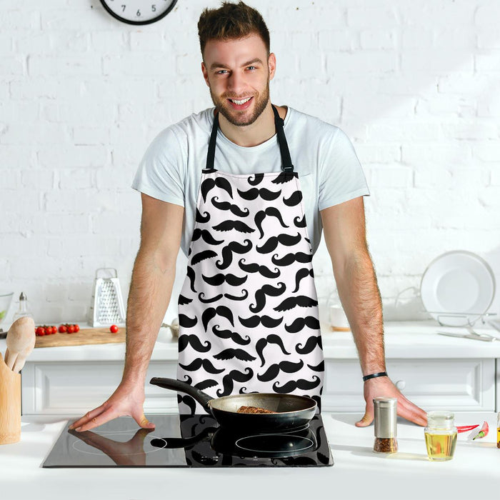 Mustache Adjustable Apron